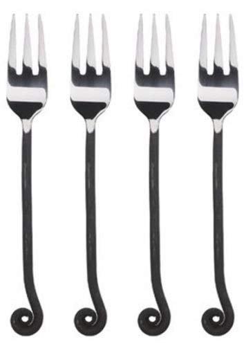 """Gourmet Settings (GS) Treble Clef 7 1/2"""" Salad Fork (Set of Four)"""