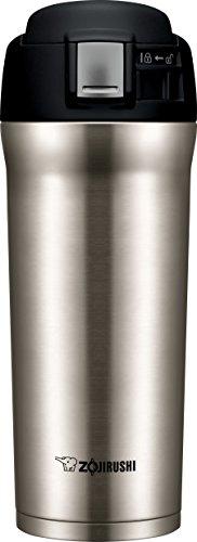 Nissan Mug Steel Stainless Travel - Zojirushi SM-YAE48XA Travel Mug, 16 oz, Stainless Steel