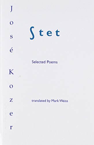 Stet: Selected Poems