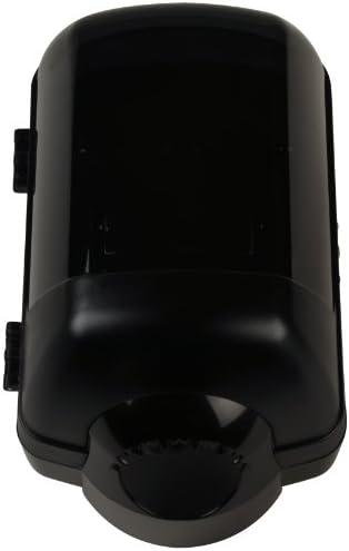 Quicky Spender für Papierhandtuchrollen abschließbar schwarz, Rollen bis 22 cm, 1er Pack (1 x 1 Stück)