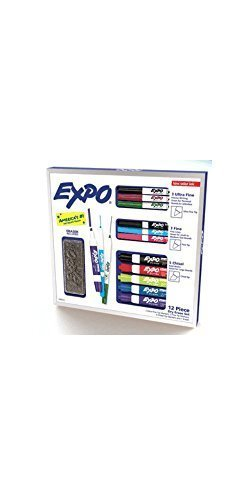 Set Dry Marker Erase (Expo 12 Piece Dry Erase Set)