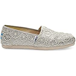Toms Women's Crochet Glitter Shoes