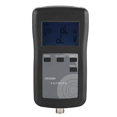 Wendry Universal Battery Checker Tester, Four Wire System High Precision Lithium Battery Internal Resistance Meter Tester Detector, Stable Characteristics and High Reliability