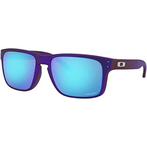 Oakley Men's Holbrook Journey Asian Fit Sunglasses,OS,Blue/Red Shift/Prizm Sapphire (Asian Fit)