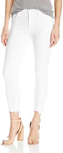 J Brand Jeans Women's Mid Rise Pintuck Skinny