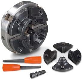 Holzstar Mandrin /à 4 mors M33 avec inserts pour tournevis et mors interchangeables 100/mm