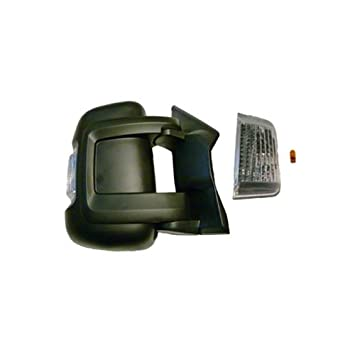 Espejo retrovisor derecho anklappbar Antena Tipo de Fiat Ducato 250 (corta Espejo brazo) 5 W: Amazon.es: Coche y moto