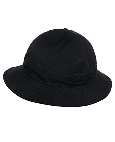 - NYFASHION101 Unisex Lightweight Crushable 6 Panel Button Top Cotton Bucket Hat, Black