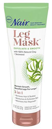 Nair Leg Mask Hair Remvoal & Beauty Treatment, Seaweed, 8 oz