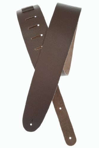 Planet Waves Basic Classic Leather Guitar Strap, Brown
