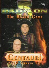 Centauri Starter Kit (2259 Edition: Babylon 5 Board Game) [BOX SET]