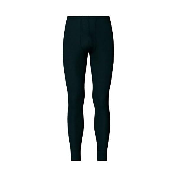 ODLO 152042 – Active Warm Funktionsunterwäsche für Herren – Lange Hose mit Feuchtigkeitsregulierung – Wärmeisolierende…