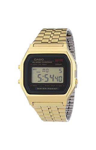 Casio Classic A159WGEA-1VT Men's Watch (Gold) (Casio Gold Watch For Men)