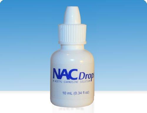 Gouttes N-acétyl-Carnosine yeux 10 ml