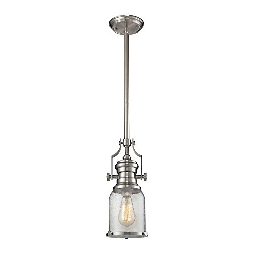 Elk Lighting 67742-1 Ceiling-Pendant-fixtures, Nickel