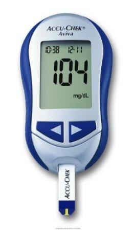 ACCU-CHEK Aviva System Blood Glucose Meter, Accuchek Aviva Meter Only, (1 EACH, 1 EACH)