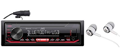 JVC KD-X260BT Built-in Bluetooth