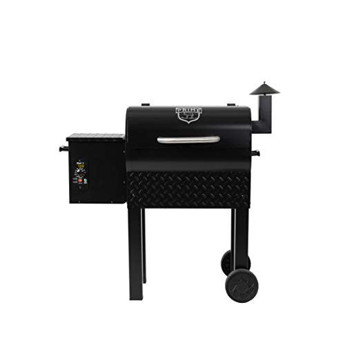 Prime Pellet Grills 81222 KC King 300 Electric Pellet Smoker, Black