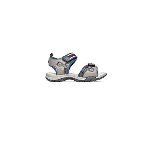S63i278 In Kids Scarpe Sandali Pelle Grigia grigio Superga vwHvP1qWR