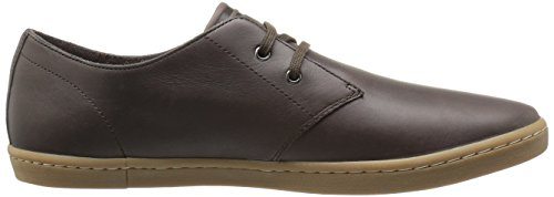 Fred Perry Authentics Byron Low Leather Shoes Brown