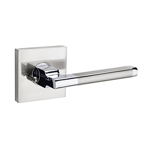 Avalon 0530 - Contemporary Design Door Handle/Lever Set in Satin Nickel (Privacy/Passage) (Door Contemporary Designs)