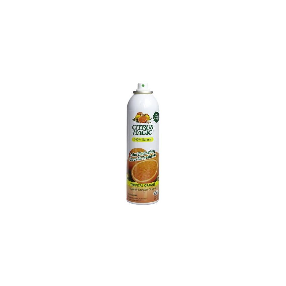 Citrus Magic Air Freshener Orange 3.5 Oz.   2 Pack