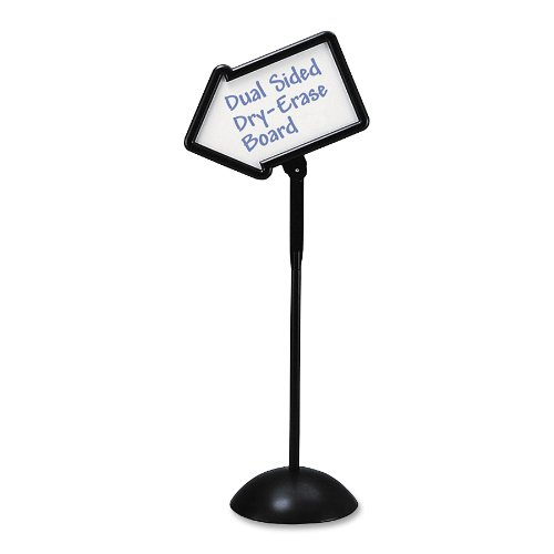 Safco Products 4173BL Write Way Directional Sign, (Directional Arrow)