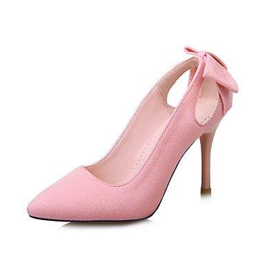 Le donne sexy elegante sandali donna tacchi Primavera Estate Autunno altri Fleece Office & Carriera Party & abito da sera Stiletto Heel altre nere rosa grigio altri , nero , us8.5 / EU39 / uk6.5 / CN4