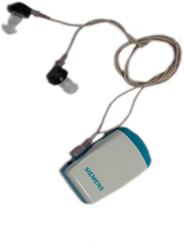 Siemens Amiga 172 Pocket Hearing Aid for Both Ear (White and Blue)