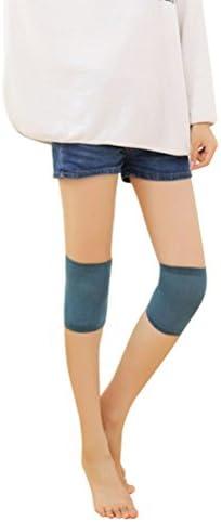 OULII Elastische Knie Kniewärmer Kompressionsbandage Schutz für Laufen Wandern Knie Schmerzen