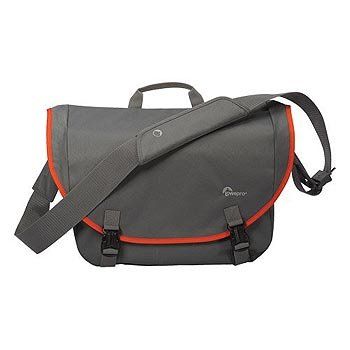 Lowepro Passport Messenger Digital SLR Camera Bag/Case (Grey) - District Messenger