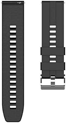 Universal Watch Band 22mm Soft Silicone Replacement Wristband for For Huawei Watch gt2/gt