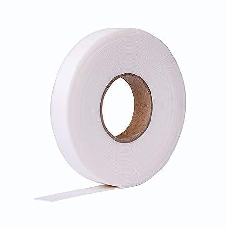 HSF Vorlegeband 9mmx1mm weiss oder schwarz einseitig selbstklebend 10m Rolle (weiss) Fugendichtband24