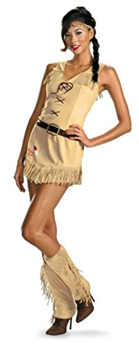 Disguise Womens The Lone Ranger Tonto Sassy Sexy Halloween Themed Fancy Costume, M (8-10)