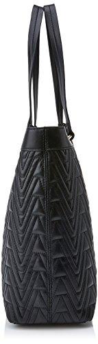 Versace Jeans Ee1vrbby4 E70040 Borsa A Secchiello Donna Nero 12x28x39 Cm w X H L