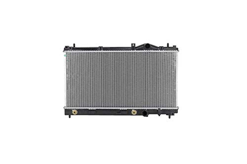 Radiator - Pacific Best Inc. Fit/For 1548 95-99 Neon Automatic Transmission 4Cy 2.0L With A-C and Top Middle Fan Mounts 7 in. Apart - USA-Built Plastic Tank Aluminum Core 1-Row