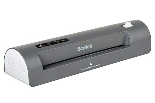Scotch Thermal Laminator, 2 Roller System for a Professional Finish, Use for Home, Office or School, Suitable for use…
