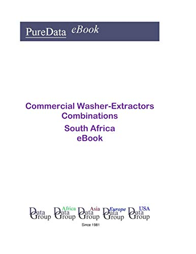Commercial Washer-Extractors Combinations in South Africa: Market Sales