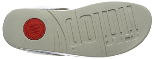 Toe Punta Argento Donna Thong Silver Sandali Cha Fringe Metallic Fitflop Aperta Sandals 11 qZpwHwtC