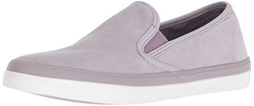 Us Women's Sneaker M Sperry Medium Light Seaside Suede 060 Purple SqwOROzx6
