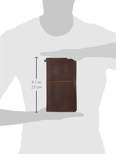 Travelers Notebook Brown Leather (1, 1 LB) by Xekia (Image #10)