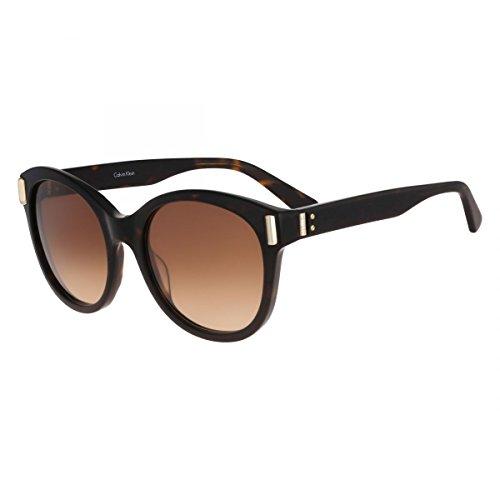 Calvin Klein sunglasses (CK-8512-S 214) Dark Havana - Light Gold - Brown Gradient - Sunglasses Calvin Oversized Klein