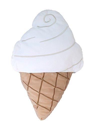 - Rhode Island Novelty Ice Cream Pillow - White