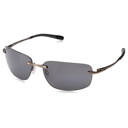746ce5ba0a Revo Unisex Unisex RE 1029 Outlander Rectangular Polarized UV Protection  Sunglasses