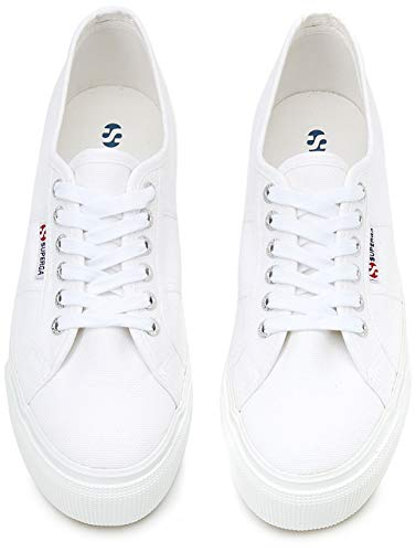 Down Linea Low 2790 Adults' White top 901 Up Superga Sneakers White Unisex ZqntaxwYYX