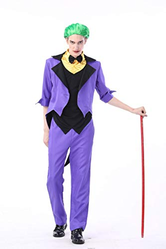 Simmia Halloween Costumes Halloween Costume Role-Playing Clothing Nightclub Theme Party Stage, 1832 Male, XL