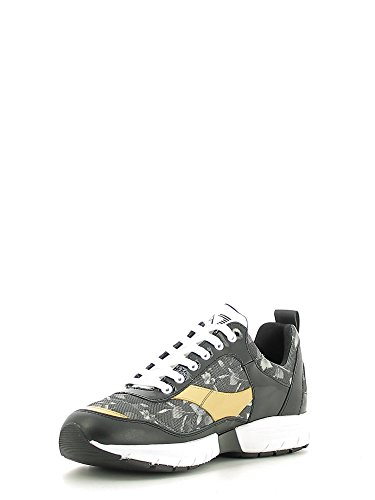 Emporio Armani EA7 chaussures baskets sneakers femme fashion style noir