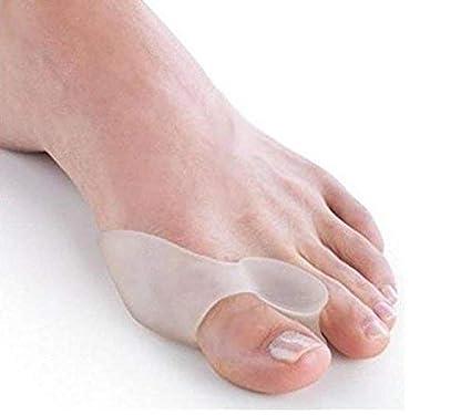 Separador de dedos de silicona, corrector de juanetes, protectores de dedos, alisador de