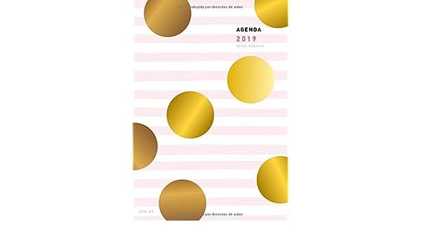 Amazon.com: Agenda 2019 Din A5 Rayas Rosadas: Agenda anual ...