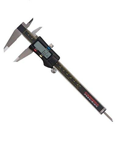 Carrera Precision CP7906 0-Inch to 6-Inch Electronic Fractional & Decimal Digital (Fractional Electronic Digital Caliper)